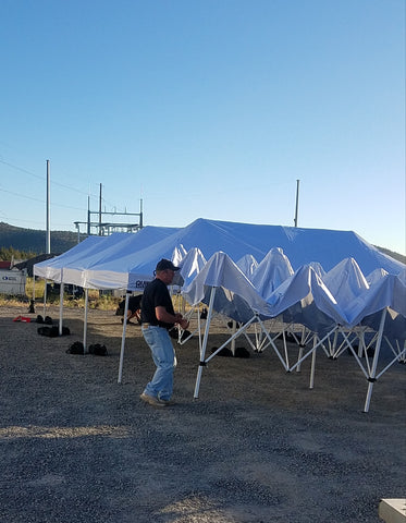 Shade Canopies for rent Central Oregon