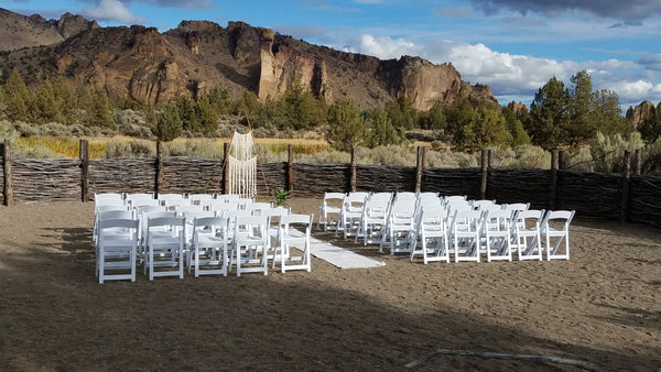 Redmond Oregon Wedding Rentals