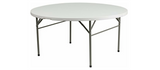 "Table, 60"" Round White"