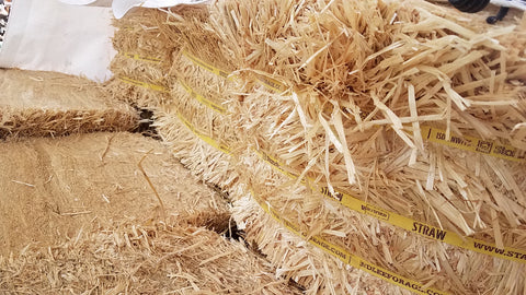 Straw Bales, Compressed