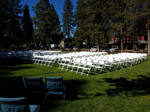 Chair, event white
