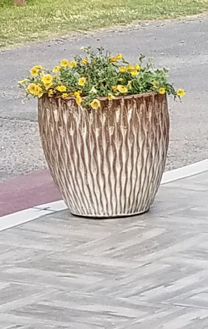 Floral distinctive planter