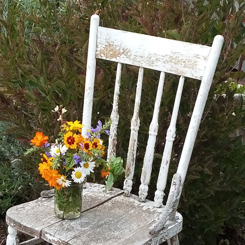 Rustic Distressed Chair