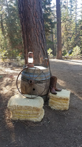 Barrel Decor