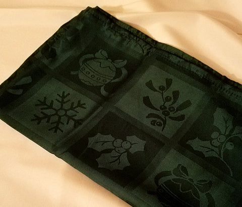Linen, Holiday Damask Napkin