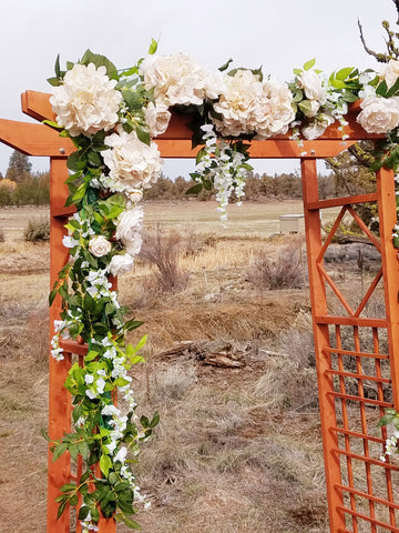 Arbor silk floral greenery Decor