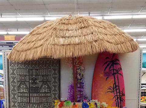 Hawaiian, Umbrella, Tiki Style