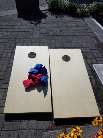 Game, Cornhole Set with Personalize Option