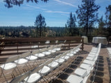 Chair, white wedding/event residential