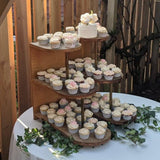 Cupcake Rustic Retro Display