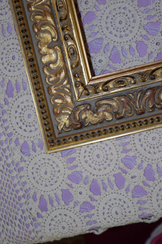 Frame, brass ornate