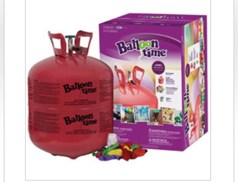 Party Supplies, Helium Tank Balloon Kit