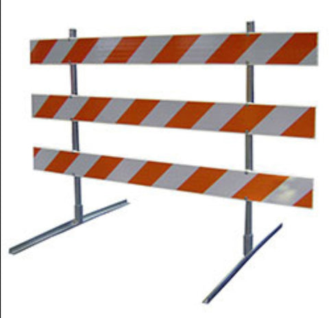 Safety Road Block Barricade