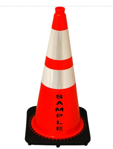 Safety Cone or Delineator traffic direct