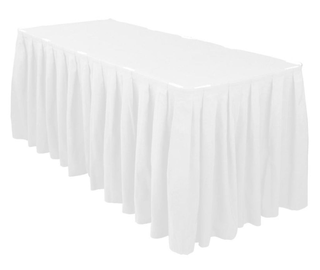 Linen White Table Skirting Events By Design Event