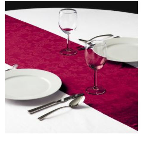 Linen, table runner specialty color