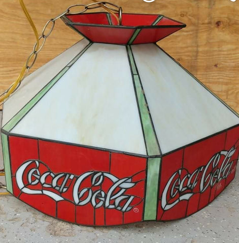 Retro Coca Cola Hanging Lamp