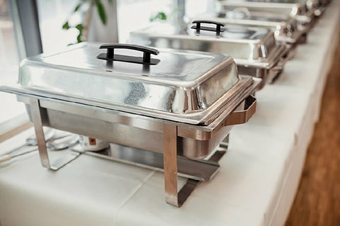 Chafer, Food Service, 8 quart Stainless Steel Set