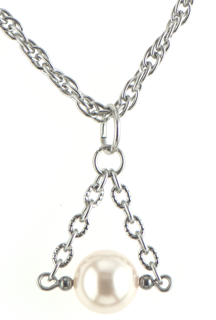 Christie Necklace in Silver (5 colors)