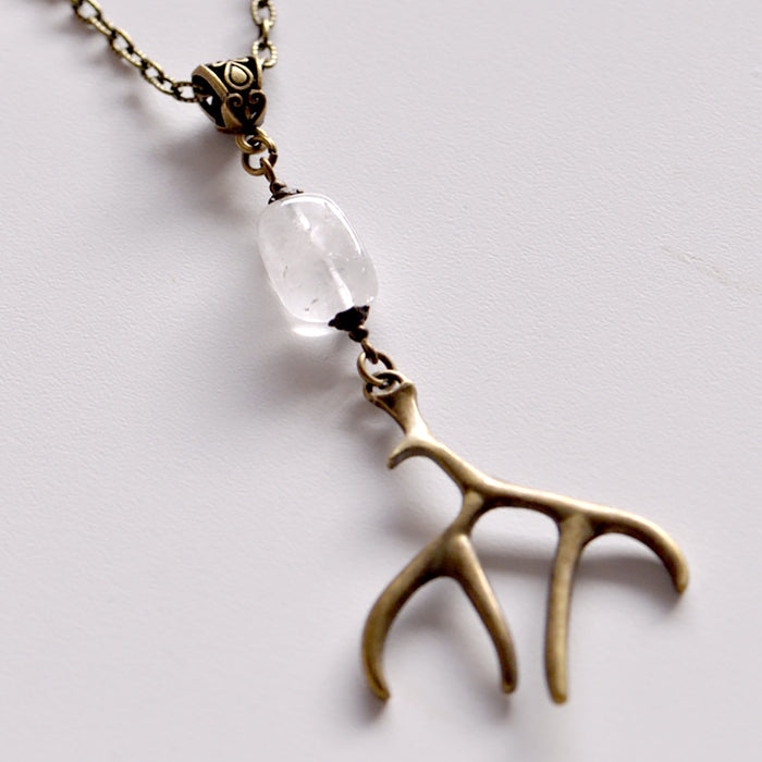 Antler & Quartz Crystal