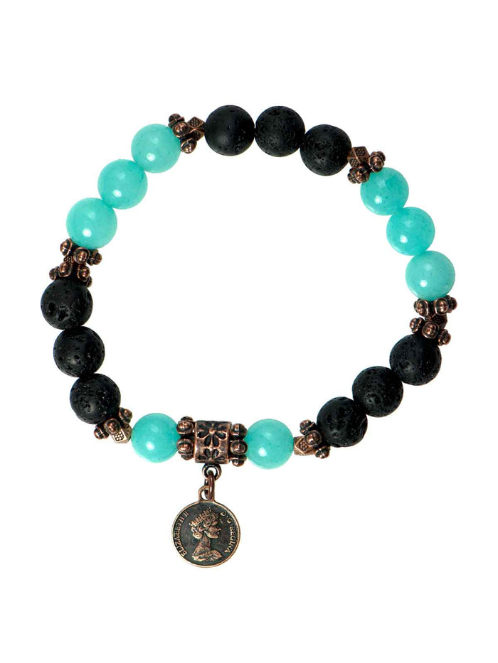 "Light Blue ""Jade"" Diffuser Bracelet"