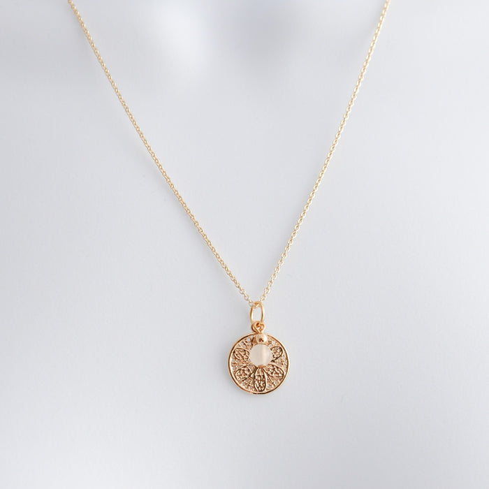Abigail Coin Layering Necklace
