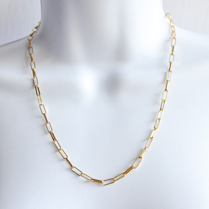 Annika Gold-Plated Chain Necklace