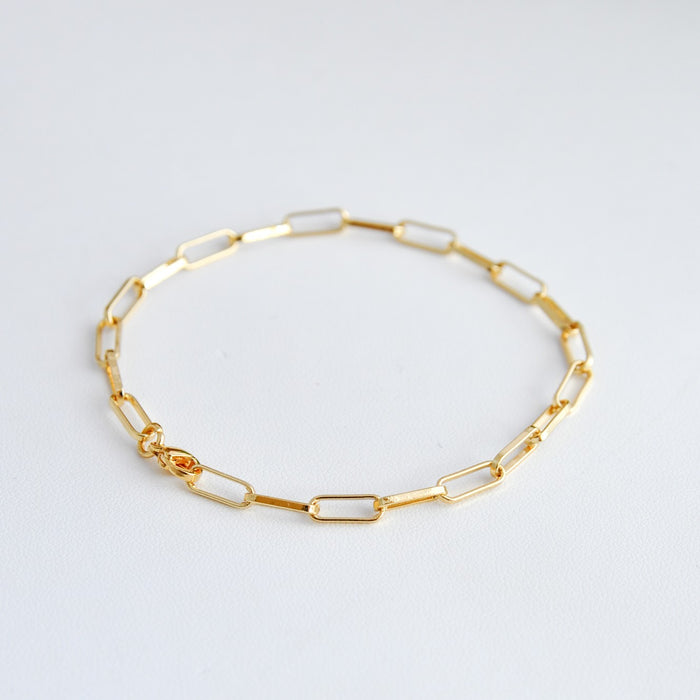 Annika Gold-Plated Chain Bracelet