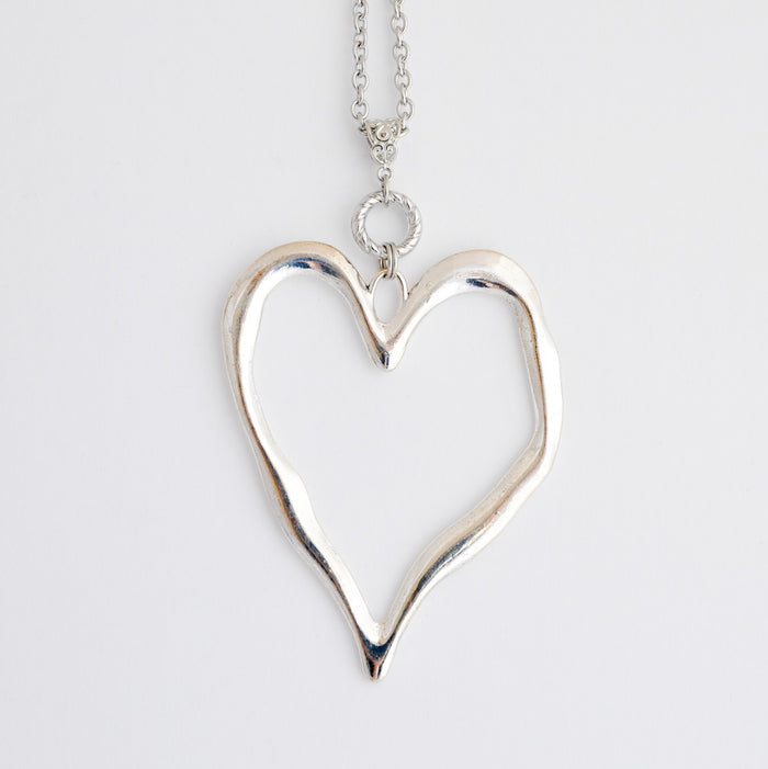 Mega Heart Necklace