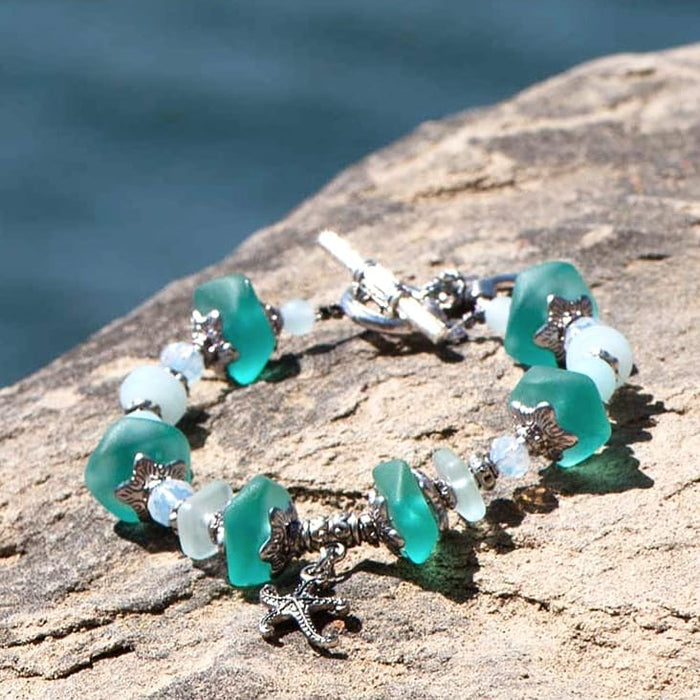 Cultured Sea Glass Bracelet
