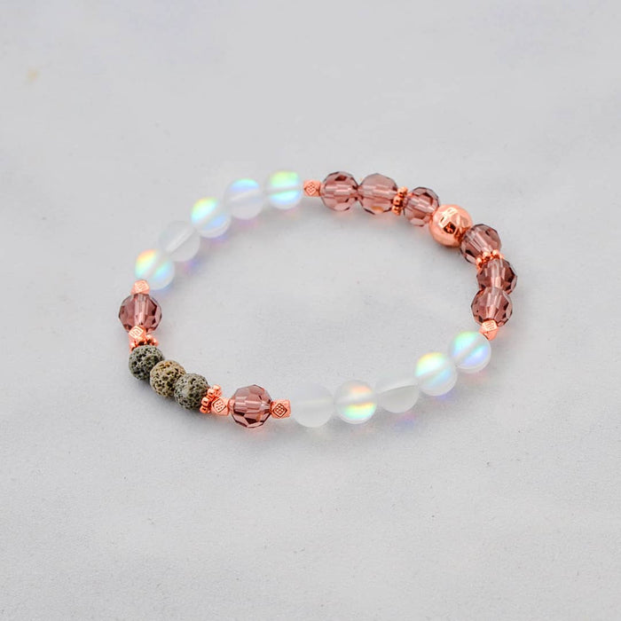 FIRE Diffuser Bracelet in Rose Gold