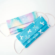 Rainbow Clouds Reversible Face Mask