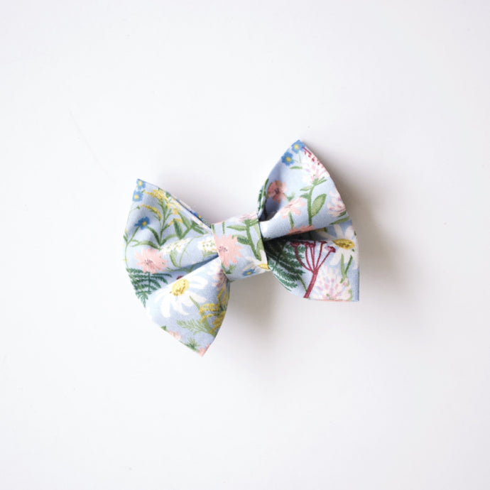 Rifle Paper Co. Blue Wildflower Bows
