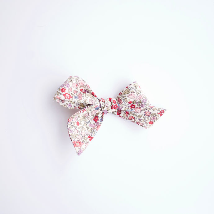 Liberty of London Floral: Ava Purple Bows