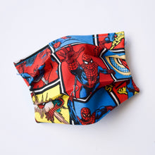 Marvel Comics Spider Man Face Mask / Optional Nose Bridge