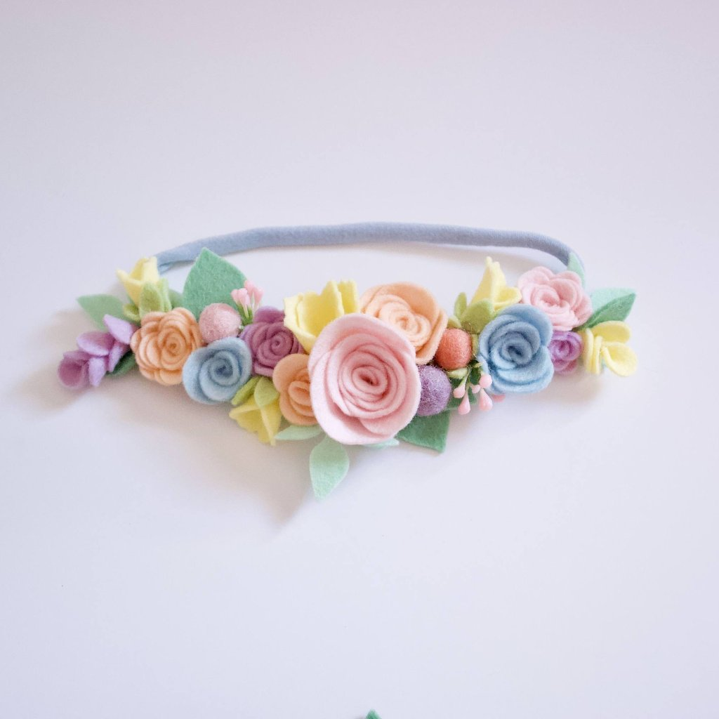 Pastel Full Floral Crown