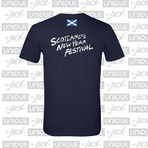 Scotland's New Year Festival Tee