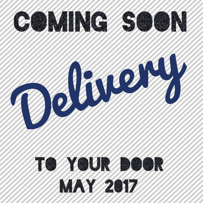 Delivery coming soon!!!