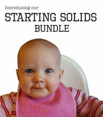 Do you have a lil' one about to start solid foods?