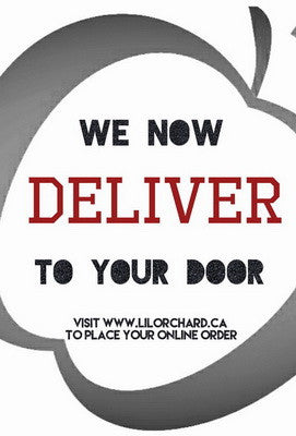 We are excited to announce that we now deliver!!