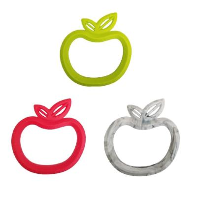 Silicone Apple Teether