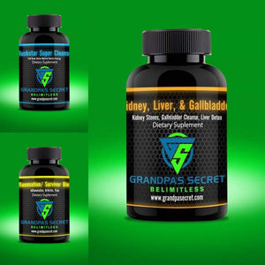 Digestion/Kidney/Liver/ gallbladder restoration 3-4 pack