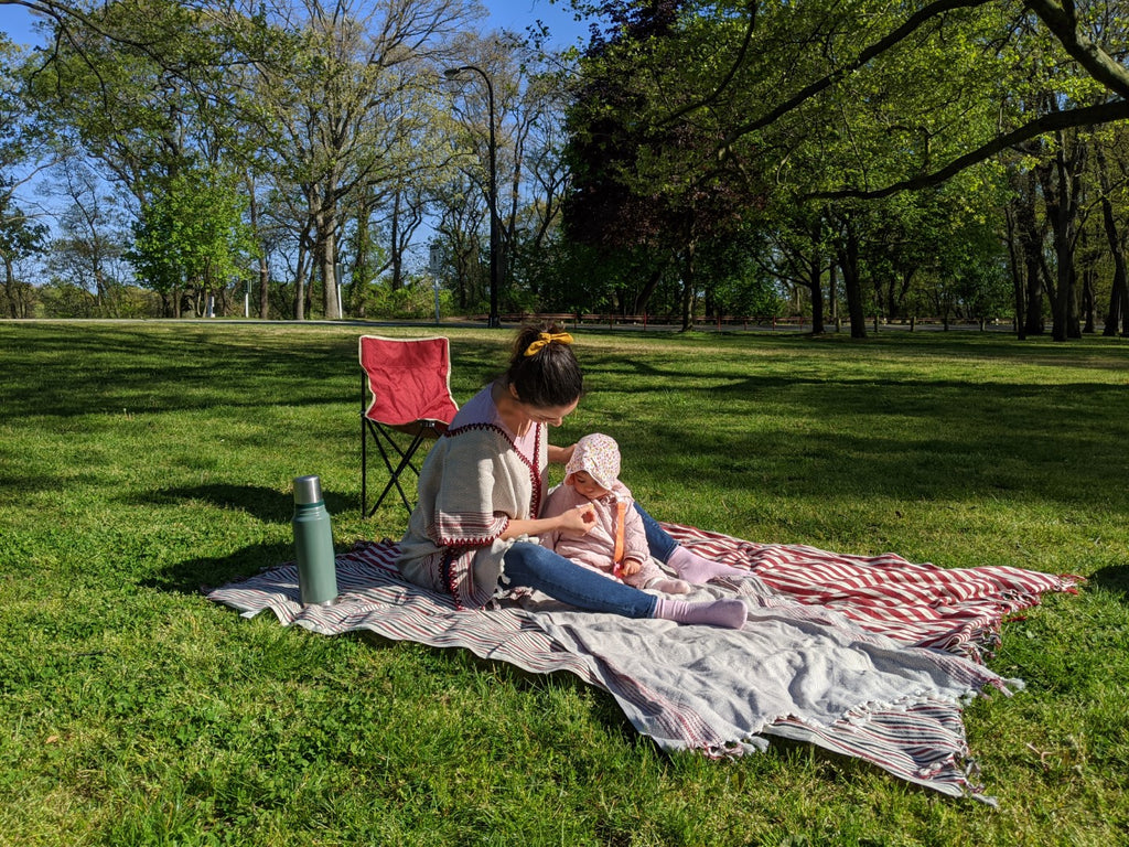 Perfect picnic companions - Turkish towels and throw blankets