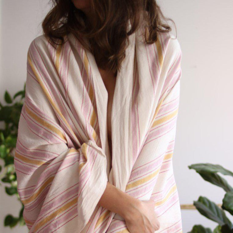 BOHO ROSE Turkish Towel - anatolico