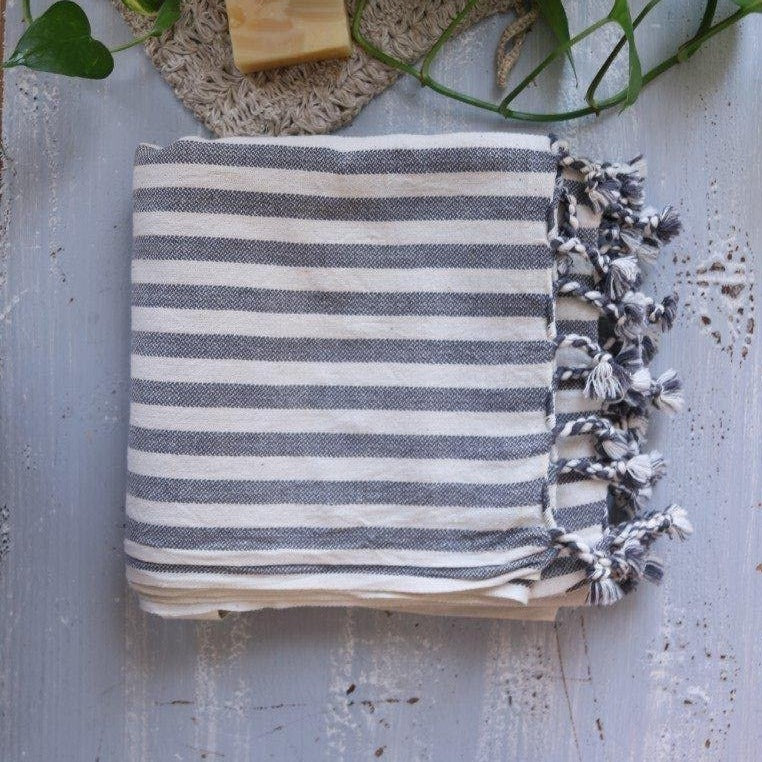 GRAY Turkish Towel - anatolico