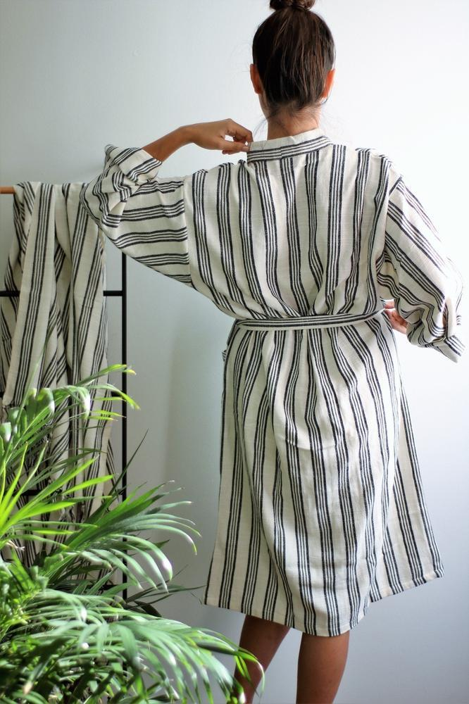 BROOKLYN Handwoven Robe-Robe-Anatoli.co-Anatoli.co