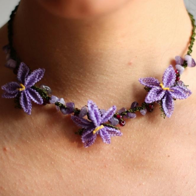 DAISY Handmade Necklace-Accessories-Anatoli.co-Violet-Anatoli.co
