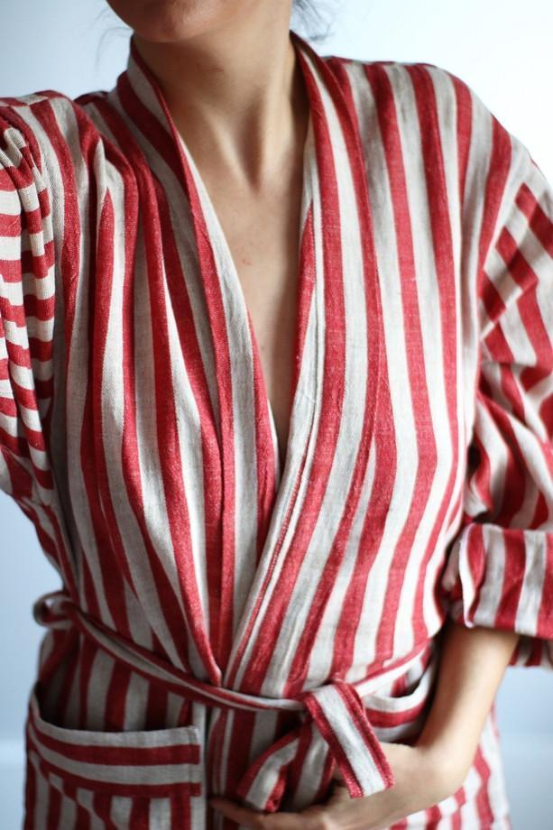 EVE Handwoven Robe-Robe-Anatoli.co-Small-Red-Anatoli.co