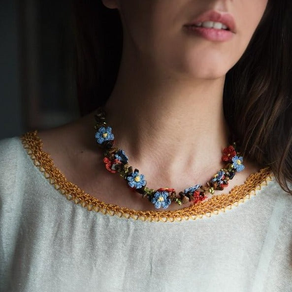 FLORA Handmade Necklace - anatolico