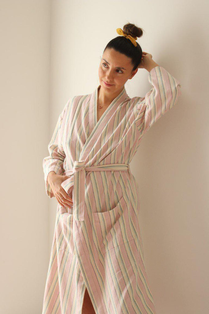 LILY Handwoven Robe - anatolico